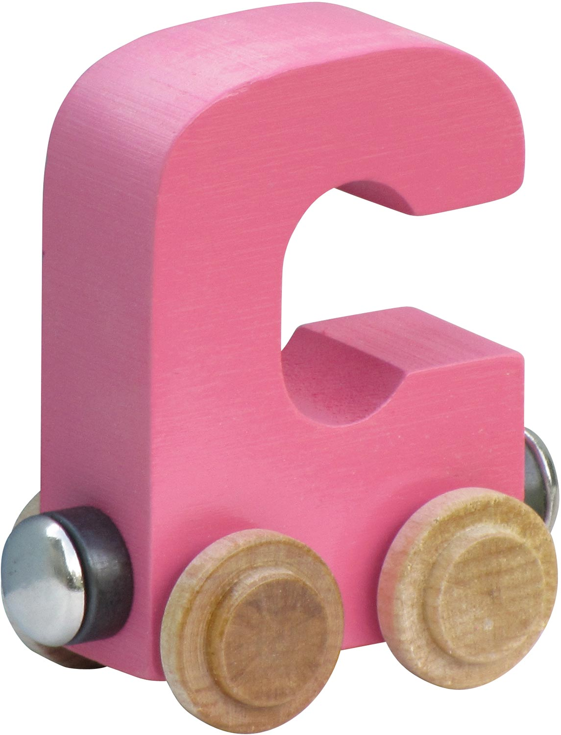 Personalized Pastel Name Train Letters