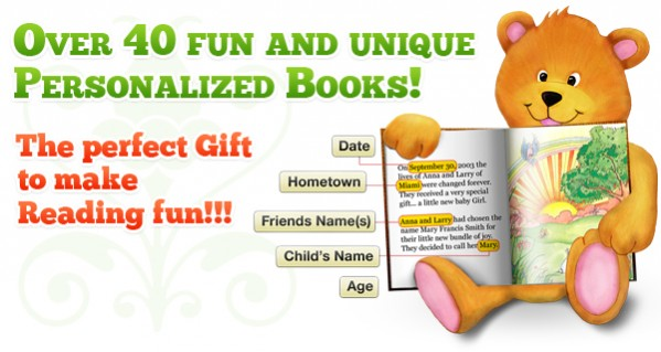 446663510bf Personalized Children's Books Just For You!