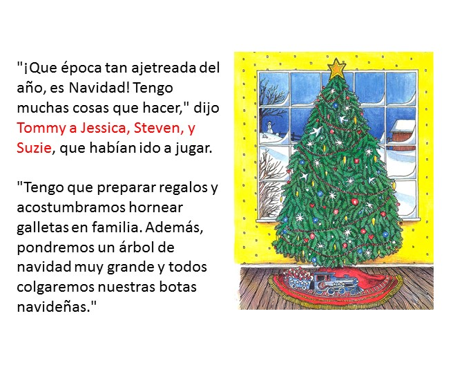 Christmas Wishes In Spanish.My Christmas Wish Spanish Version Pages 4 5