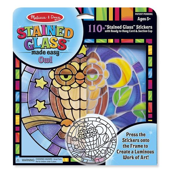 Melissa and Doug Stained Glass